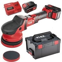 Flex Cordless polisher XCE 8 125 18.0-EC/5.0 SET